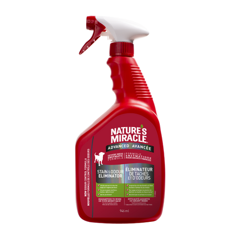 Nature's Miracle Advanced Stain & Odor Remover Formula for Dogs-Training & Behavior-Nature's Miracle-Petland Canada