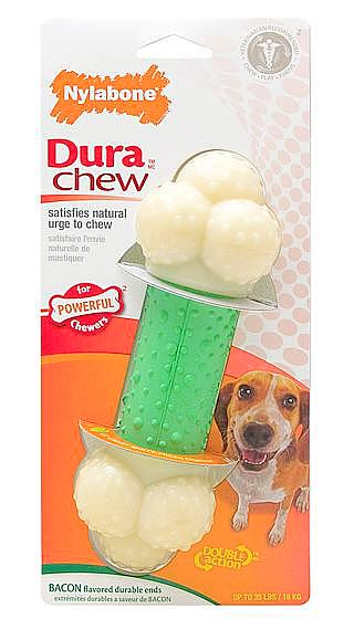 Nylabone Durachew Double Action Chew; available in different styles