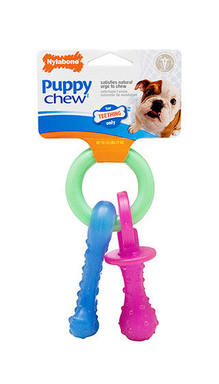 Nylabone Puppy Teething Pacifier Xsmall