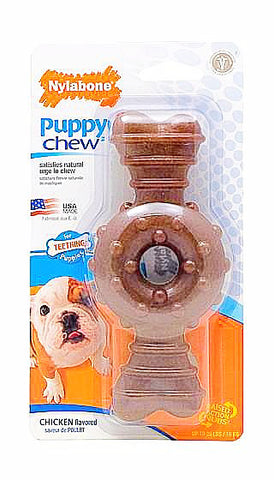 Nylabone Puppy Chew Ring Bone; available in 2 sizes