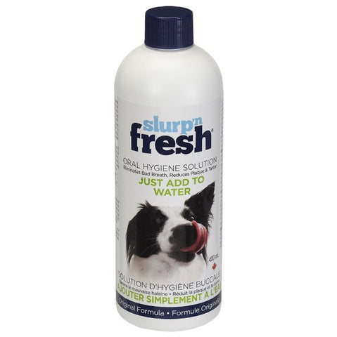 Slurp'n Fresh Oral Hygiene Solution for Dogs (400ml)