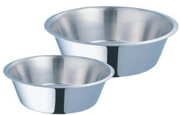 Kumar Stainless Steel Dog Dish; available in different sizes
