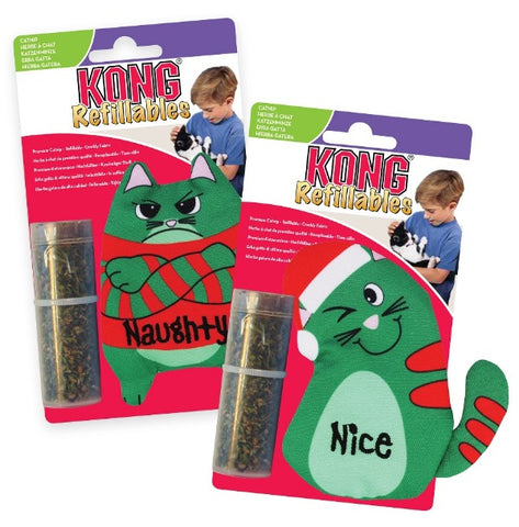KONG Holiday Refillables Cat Toys; Available in 3 Styles
