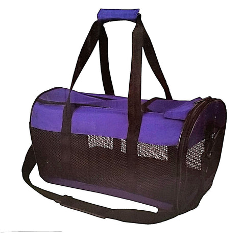 Travago Classic Pet Carrier-Outdoor-Travago-Navy Blue-Petland Canada