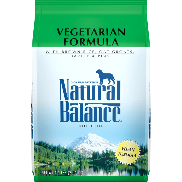 Natural Balance Vegetarian Dry Dog Formula-Food Center-Natural Balance-4.5lbs-Petland Canada