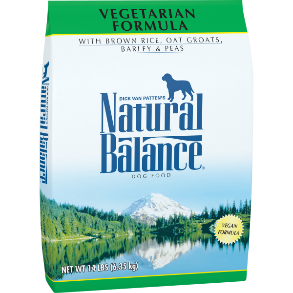 Natural Balance Vegetarian Dry Dog Formula-Food Center-Natural Balance-14 lbs-Petland Canada