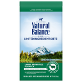 Natural Balance L.I.D. Lamb Meal & Brown Rice Dry Dog Formula
