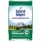 Natural Balance L.I.D. Lamb Meal & Brown Rice Dry Dog Formula-Food Center-Natural Balance-26 lb-Petland Canada