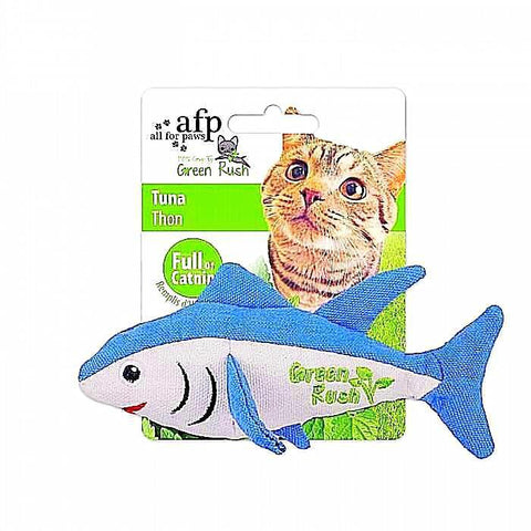 afp Green Rush Tuna Catnip Toy
