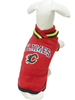 NHL Sweater Calgary Flames - available in 8 sizes-Clothes & Boots-Karsuh-Petland Canada