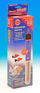 Cascade Preset Heater; Available in several sizes-Heating-Cichlid-7in 25watt Submersible-Petland Canada