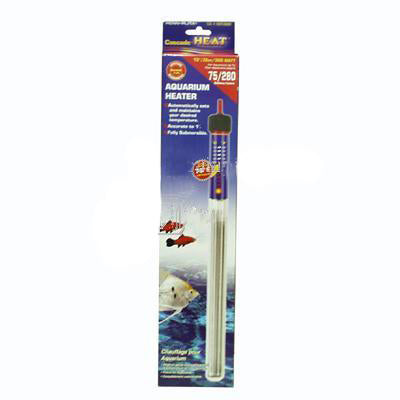 Cascade Preset Heater; Available in several sizes-Heating-Cichlid-12in300w Submersible-Petland Canada