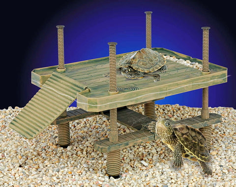 Reptology Turtle Pier Floating/basking Platform Lg