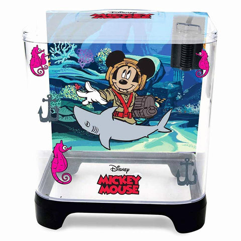 Penn Plax Classic Disney Mickey Mouse 1.5 Gallon Aquarium Kit