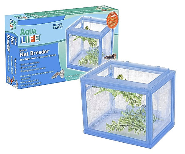Deluxe Net Breeder W/spawning Grass Each