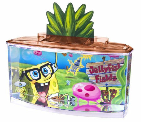 Penn Plax Spongebob Betta Kit-Aquariums & Kits-Penn Plax-Petland Canada