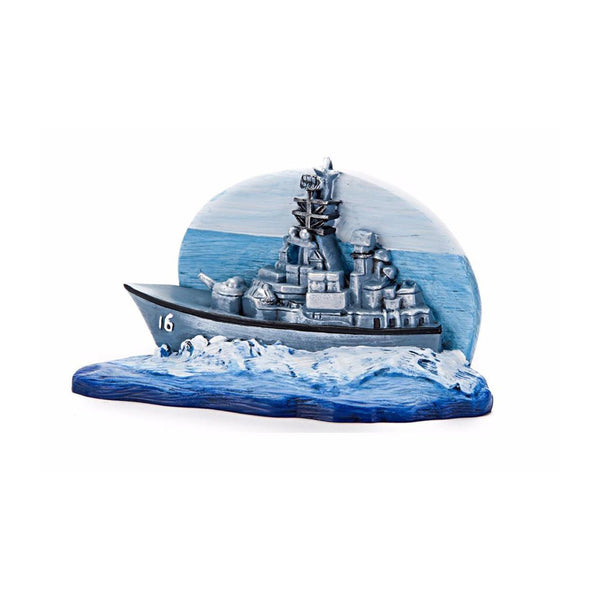 Penn Plax US Navy Resin Ornament; available in different styles-Decor-Penn Plax-US Navy destroyer-Petland Canada