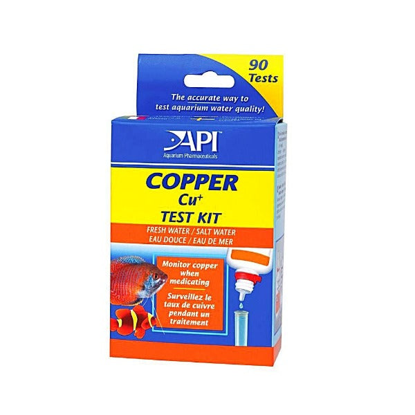 API Copper Test Kit, 90 tests-Aquarium Maintenance-API-Petland Canada