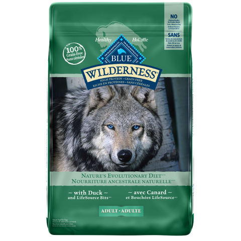 BLUE Wilderness Adult Dog Duck Recipe