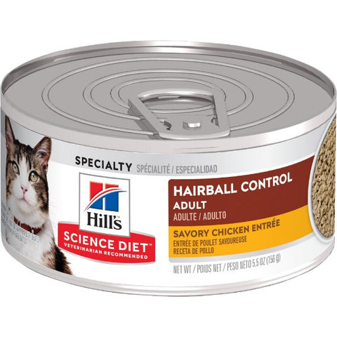 Science Diet Feline Adult Hairball Control Canned Food