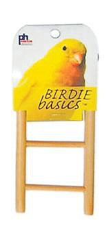 Prevue Birdie Basics Bird Ladder: available in different sizes-Perches & Ladders-Prevue Hendryx-3 rung-Petland Canada