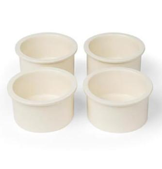 Prevue Pet Ceramic 4 Bowl Replacement Cup Set-Feeders & Waterers-Prevue Hendryx-Petland Canada