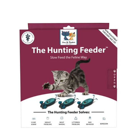 Doc & Phoebe's Cat Co. Indoor Hunting Feeder System for Cats