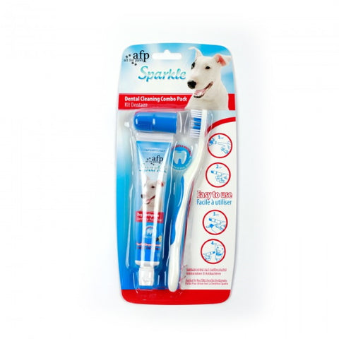 AFP Dental Cleaning Combo Pack Vanilla & Ginger-Health Care-All For Paws-Petland Canada