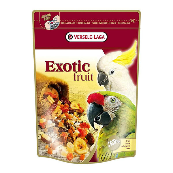 Versele Laga Exotic Fruit for Parrots, 600 gr