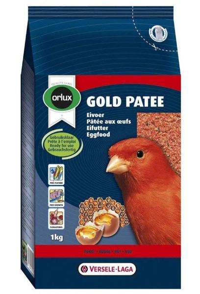 Versele Laga Orlux Gold Patee Canary Red 1kg