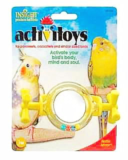 Activitoy Rattle Mirror Each