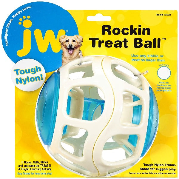 Rockin Treat Ball Each-Toys-Cichlid-Petland Canada