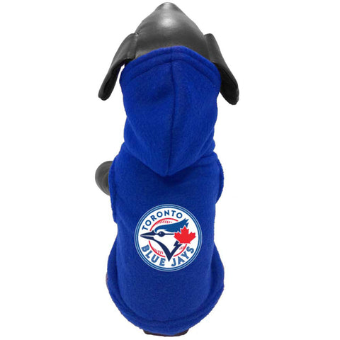 All Star MLB Toronto Blue Jays Polar Fleece Hoodie; available in several sizes.