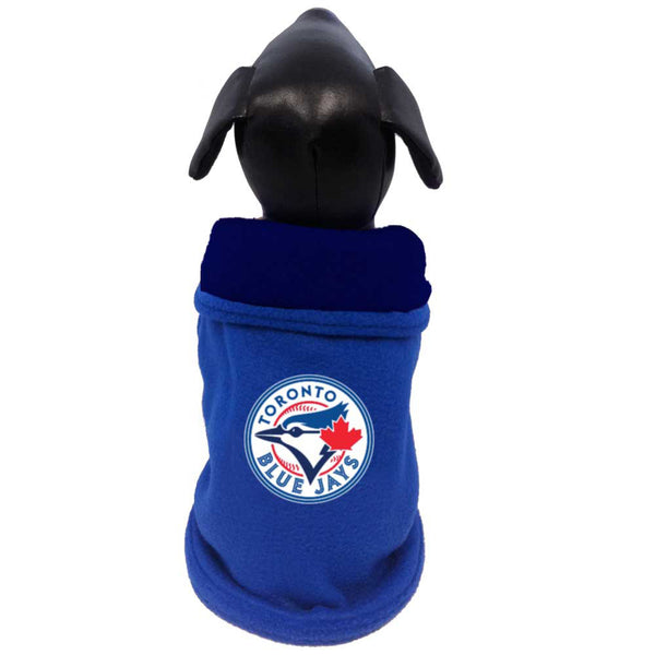All Star MLB Toronto Blue Jays Double Layered Polar Fleece Coat; available in several sizes.
