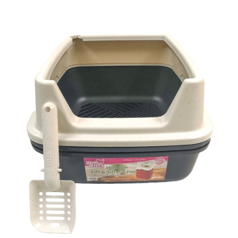 Here Kitty High Rim Lift & Sift Litter Pan-Litter-Here Kitty-Petland Canada