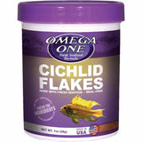 Omega One Cichlid Flakes-Food-Omega Sea-Default-Petland Canada