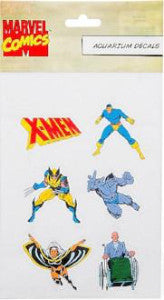 Marvel Xmen Aquarium Decals Assorted Each