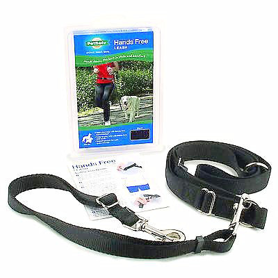 Hands Free Leash Black-Collars & Leashes-PetSafe-Petland Canada