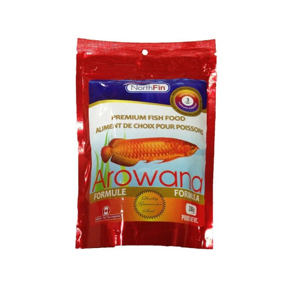 NorthFin Arowana Premium Fish Food; available in different sizes-Food-NorthFin-3 mm, 250 g package-Petland Canada