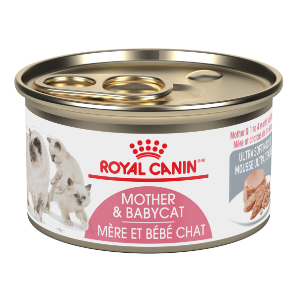 Royal Canin Mother & Babycat Ultra Soft Mousse; Available in 2 sizes