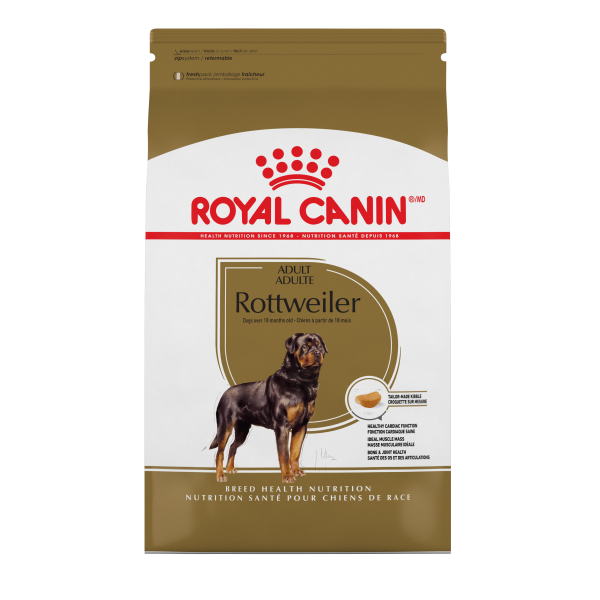 Royal Canin Adult ROTTWEILER Dry Dog Food (30lb.)