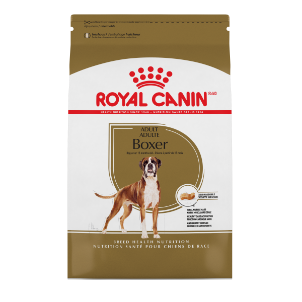 Royal Canin Adult BOXER Dry Dog Food (30lb.)