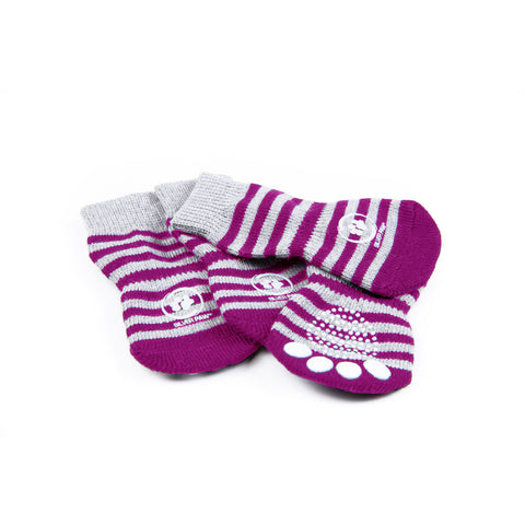 Silver Paw Inside Anti Slip Socks