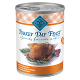 Blue Family Favorite Recipe; Available in different Flavours-Food Center-Blue Buffalo Co.-Turkey Day Feast-Petland Canada
