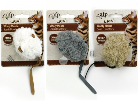AFP Lamb Electronic Noise Cat Toys