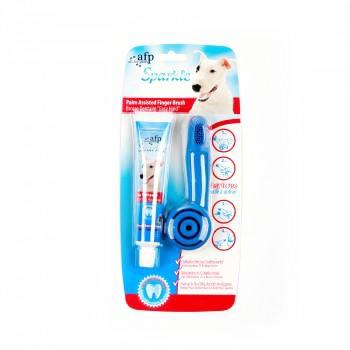 All for paws palm assisted finger brush