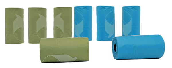 Good Dog Waste Bags; Available in 3 sizes-Outdoor-Good Dog-8 Rolls - 120 Bags-Petland Canada
