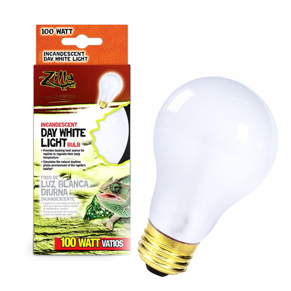 Zilla Bulb Reptile 100w Inc Day White Boxed-Heating & Lighting-Cichlid-Petland Canada