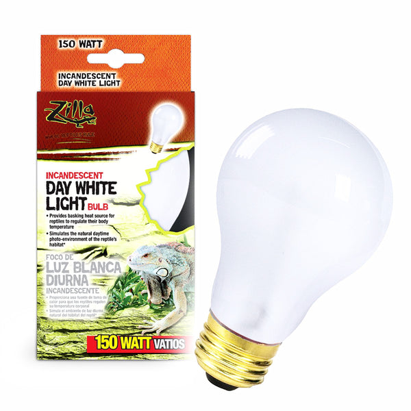 Zilla Bulb Reptile 150w Inc Day White Boxed-Heating & Lighting-Cichlid-Petland Canada