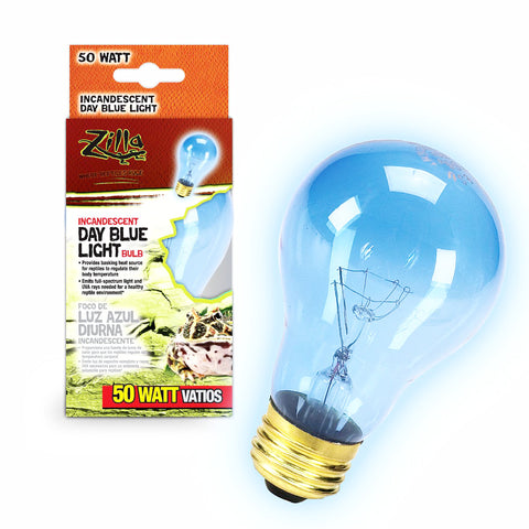 Zilla Bulb Reptile 50w Inc Day Blue Boxed-Heating & Lighting-Cichlid-Petland Canada